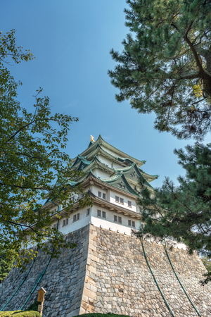 The castle tower of Nagoyajo castle Editorial