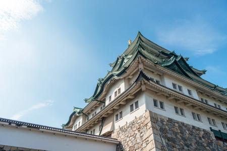 The castle tower of Nagoya-jo castle