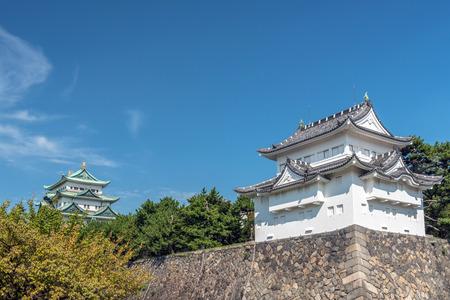 Seinan sumiyagura and castle tower of Nagoyajo castle Editorial
