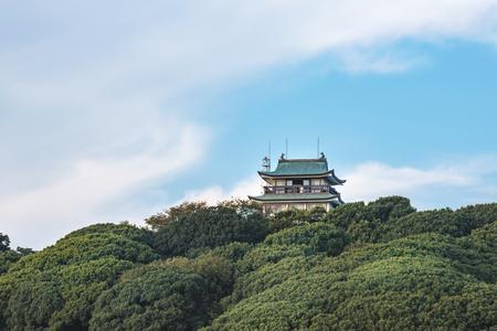 Scenery of the Komakiyama castle