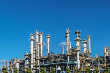 Fabryka rafinacji ropy naftowej