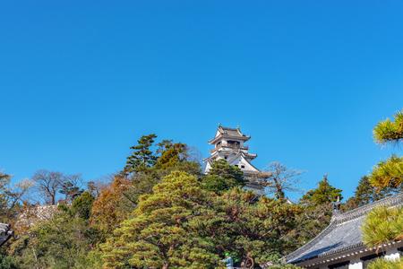 Scenery of the Kochi castle in Kochi, Japan