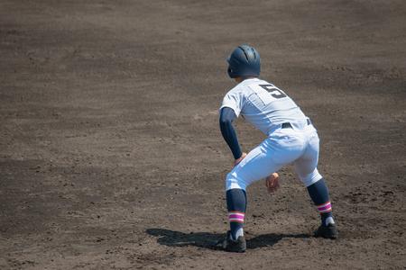Scenery of the baseball match 新聞圖片