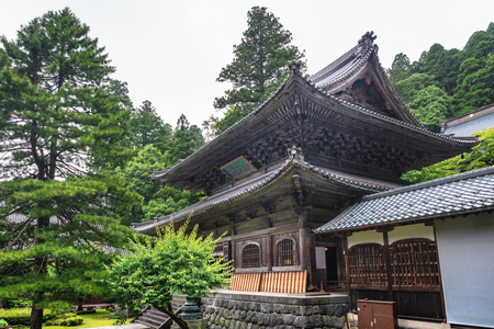 Buddhist sanctum in the rain: Eiheiji temple in Fukui, Japan