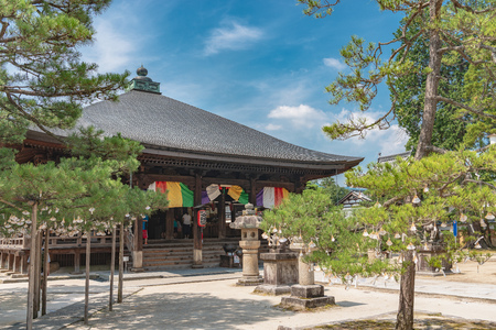 Scenery of the Chion-ji temple in Miyazu city, Kyoto, Japan