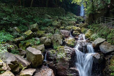 Scenery of the Yoro falls in Gifu, Japan