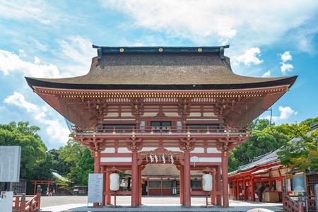Tsushima jinja shrine in Japan