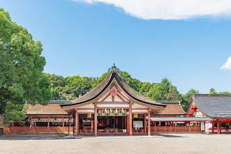 Tsushima jinja shrine in Aichi Редакционное