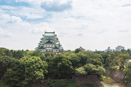 Scenery of the Nagoya castle