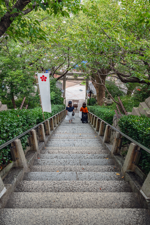 Kitano tenman jinja in Kobe, Japan