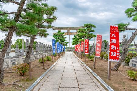 Scenery of the Oishi jinja shrine in Ako city