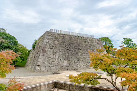Castle tower trace of the Akaho castle