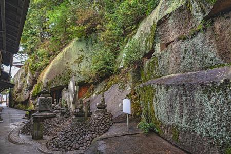 Precincts scenery of the Senkoji temple in Onomichi city, Japan