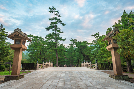 Harai no hashi bridge of the Izumo Taisha in Izumo city, Japan