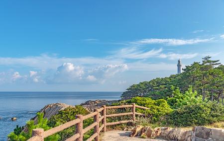 Scenery of the Hinomisaki Cape in Izumo city, Japan