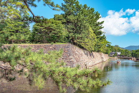 Scenery of the Matsue castle in Matsue city, Japan Stock Photo