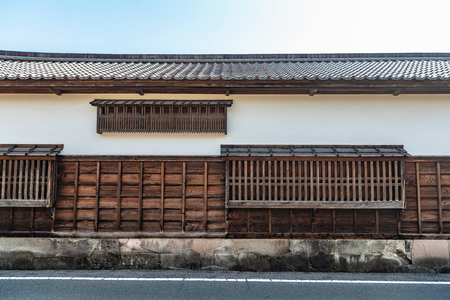 Scenery of the castle town in Matsue city in Shimane, Japan