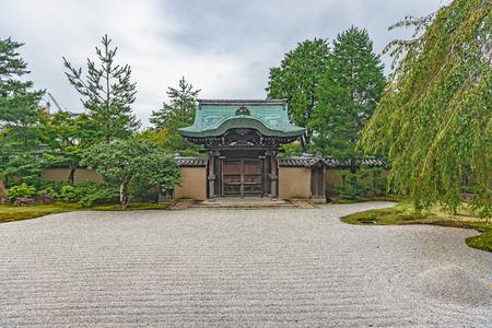 Garden scenery of the Kodaiji temple in Kyoto