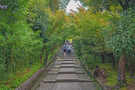 Daidokorozaka slope of the Kodaiji temple in Kyoto