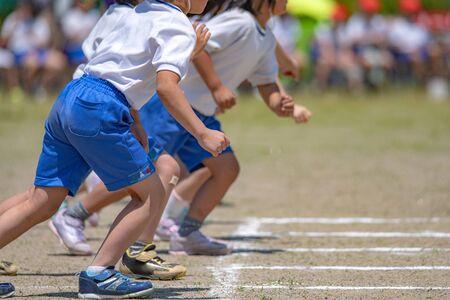 Raduno di atletica della scuola elementare