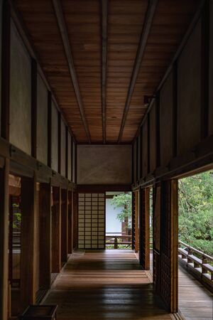Shinden Hall of the Shoren-in Temple in Kyoto, Japan