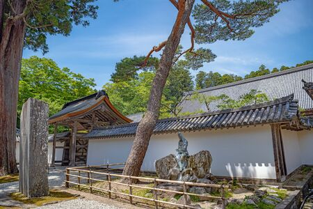 Scenery of the Zuigan-ji temple in Miyagi, Japan