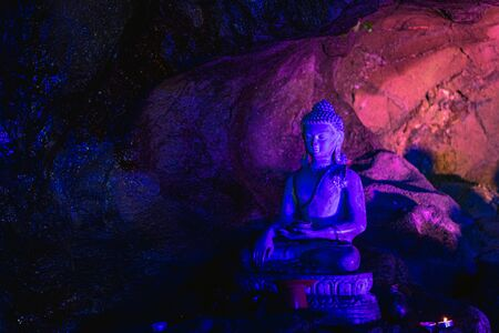 Buddha statue of the cave