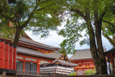 Scenery of the Yasaka jinja shrine