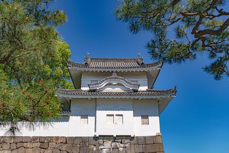 Seinan Sumiyagura (Southwest Corner Tower) of the Nijo Castle in Kyoto, Japan