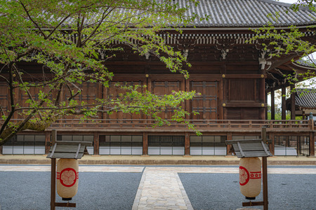 Precincts scenery of the Chion-in temple in Kyoto, Japan