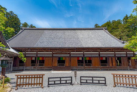 Main hall of the Zuigan-ji temple in Miyagi, Japan