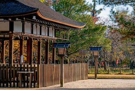 Geheiden Hall of the Kamigamo Shrine in Kyoto, Japan
