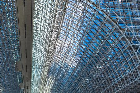 Kyoto Station Building of modern architecture 版權商用圖片