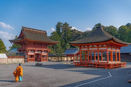Scenery of the Nangu Taisha