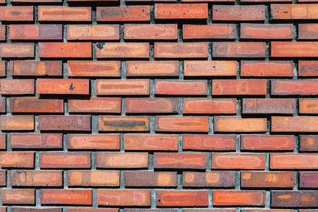 Red brick wall background image