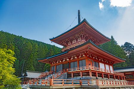 East Pagoda of the Enryaku-ji temple