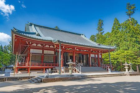 Ordination Hall (Kaidan-in) of the Enryaku-ji temple 新聞圖片