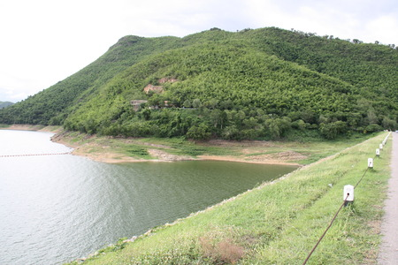 reservoirs: Moutains reservoir, Thailand serviced reservoirs