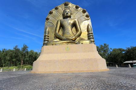 nakhon: Big Buddha  Public Templel  Thailand