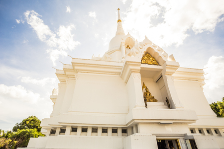 27/11/2013 Kanchanapisek Pagode in Thailand Standard-Bild - 73338432