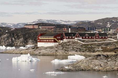 Iceberg on Arctic Ocean in Greenland