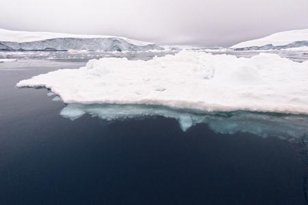 Glacier on Arctic Ocean in Greenland Stock fotó