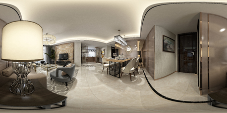 360 degrees of home living room