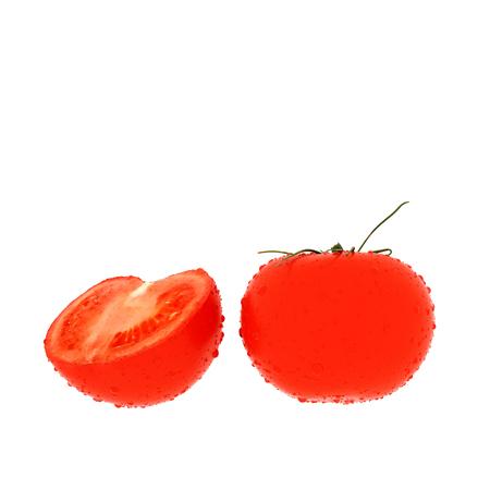 3d render of fresh tomato