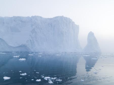 Big Iceberg in Arctic Ocean