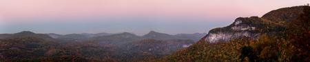 Autumn Appalachian Panorama, North Carolina photo