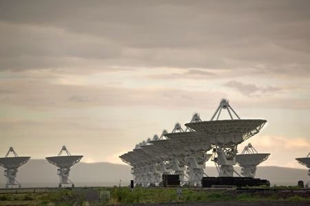 New Mexicos Very Large Array (VLA) photo