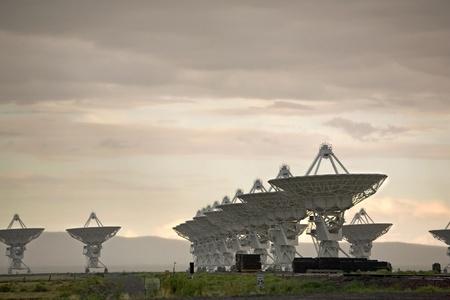 extra terrestrial: New Mexicos Very Large Array (VLA)
