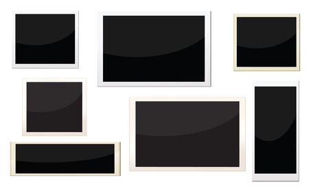 picture card: photo frames with different size, can replace image and message on it.