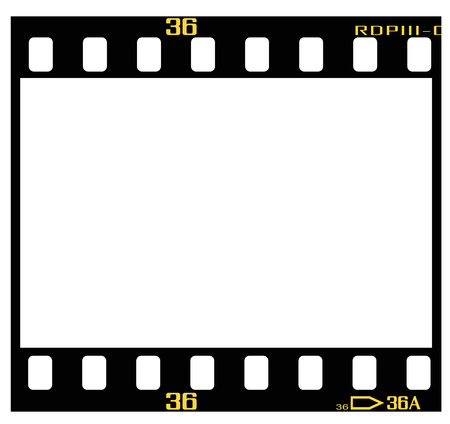 dimension: 35mm slidepositive frame, with details and accurate dimension.